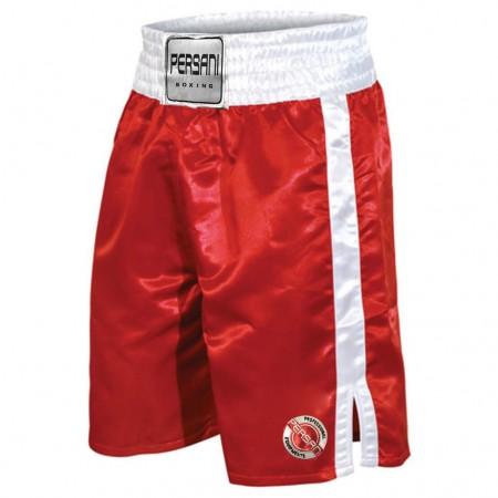Σόρτς πυγμαχίας 1402 Boxing Trunks σε κοκκινο χρώμα