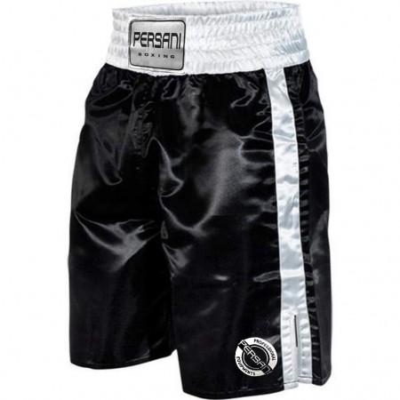 Σόρτς πυγμαχίας 1402 Boxing Trunks σε Μαύρο χρώμα