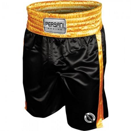 Σόρτς πυγμαχίας 1402 Boxing Trunks σε μαυρο  χρυσο χρώμα