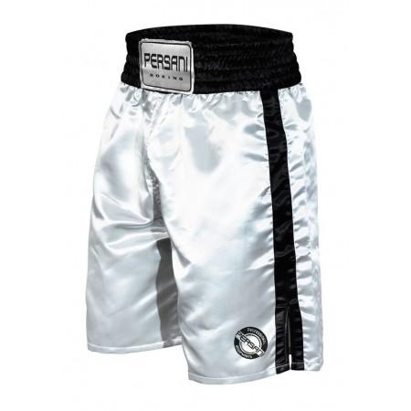 Σόρτς πυγμαχίας 1402 Boxing Trunks σε λευκο μαυρο χρώμα