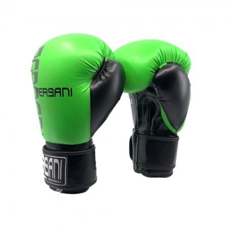 Γάντια Πυγμαχίας & Kick Boxing Για Sparring Persani σε πράσινο χρώμα