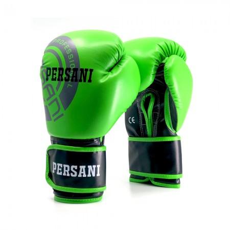 Γάντια Πυγμαχίας & Kick Boxing Persani Neon σε πράσινο χρώμα