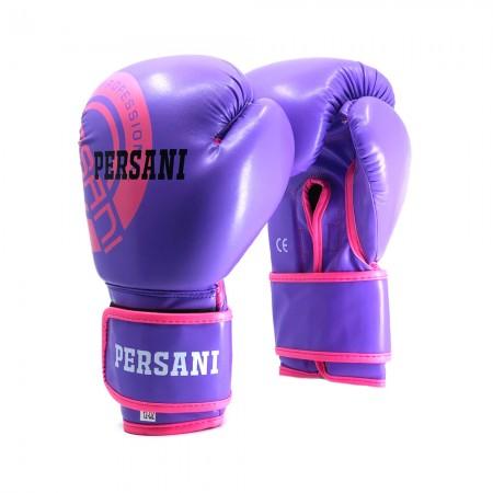 Γάντια Πυγμαχίας & Kick Boxing Persani Neon σε μωβ χρώμα
