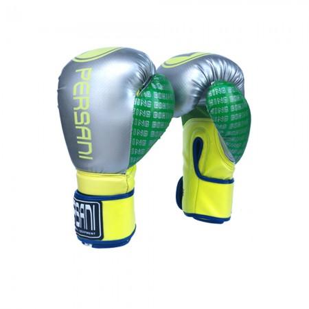 Γάντια Πυγμαχίας & Kick Boxing Carbon Persani Γκρί - Κίτρινο