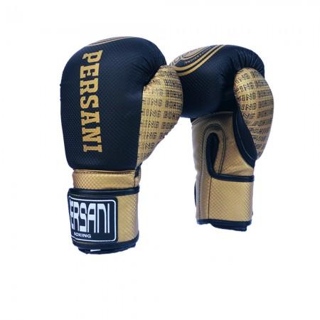 Γάντια Πυγμαχίας & Kick Boxing Carbon Persani Μαύρο - Χρυσό