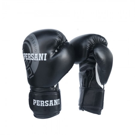 Γάντια Πυγμαχίας & Kick Boxing Persani σε μαύρο χρώμα