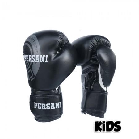 Γάντια Πυγμαχίας & Kick Boxing Persani Neon σε μαύρο χρώμα kids
