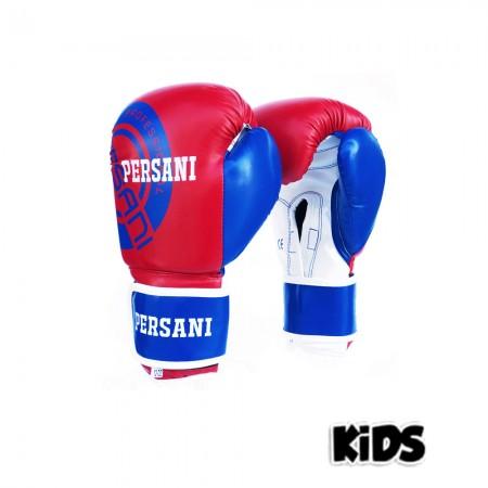 Γάντια Πυγμαχίας & Kick Boxing Persani Neon σε μπλε - κοκκινο χρώμα kids