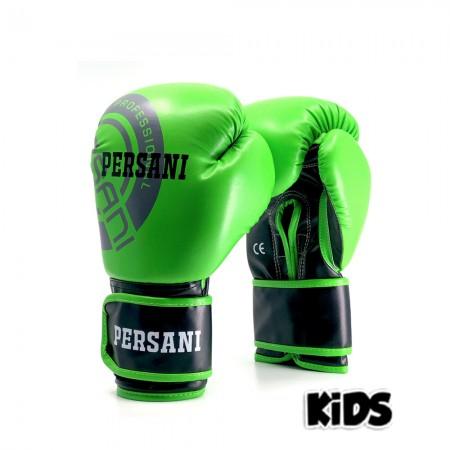 Γάντια Πυγμαχίας & Kick Boxing Persani Neon πράσινο χρώμα kids
