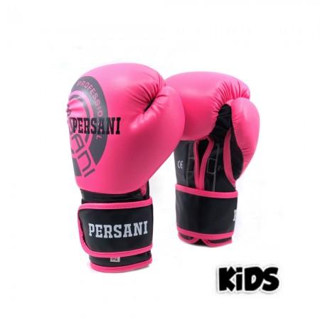Γάντια Πυγμαχίας & Kick Boxing Persani Neon σε ροζ χρώμα kids