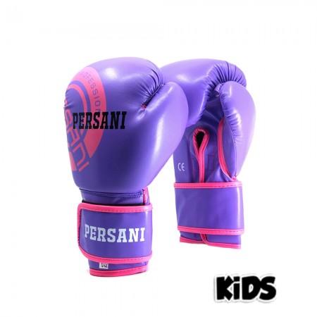 Γάντια Πυγμαχίας & Kick Boxing Persani Neon μωβ χρώμα kids